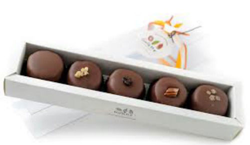 Gallette  Chocolates - Caixa de Bolins para os padrinhos