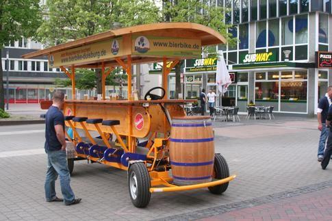 Beispiel: Das BierBike, Foto: BierBike Niederrhein.
