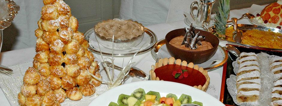 Beispiel: Dessertbuffet, Foto: Zunfthaus zur Meisen.