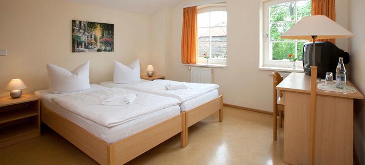 Beispiel: Zimmer, Foto: Landhof Liepe.