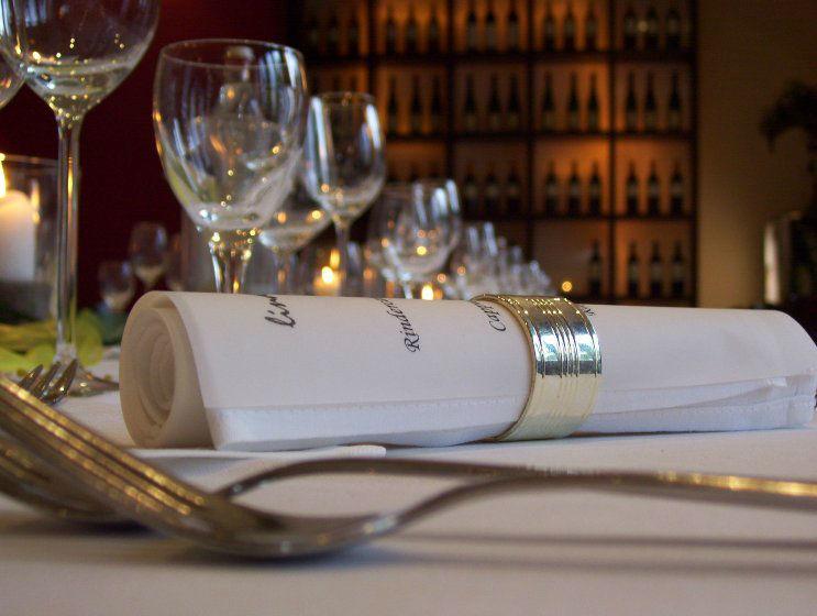 Beispiel: Detail - Tischdekoration, Foto: Lindenthal by Schneiders.