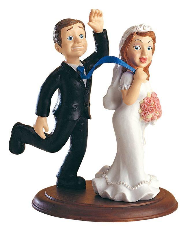 Geniales figuras para tu tarta de boda. Para todo tipo de parejas!