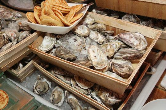 Beispiel: Austern, Foto: Kuffler Catering.