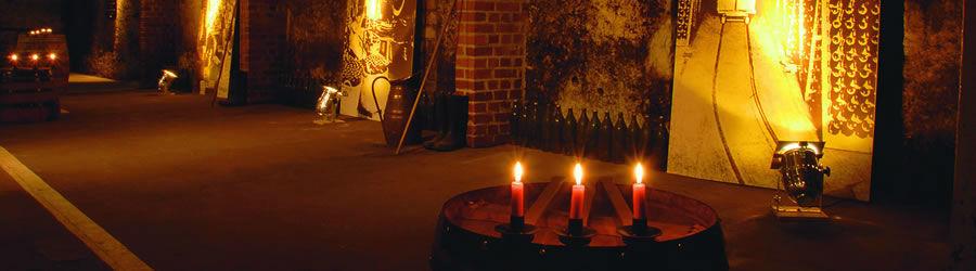 Beispiel: Altes Weinlager, Foto: Kupferbergterrasse.
