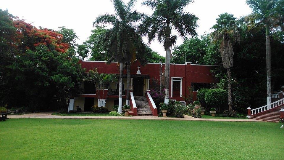 Casa principal de la Hacienda que pueden ocupar los novios para su arreglo personal y uso durante su evento.