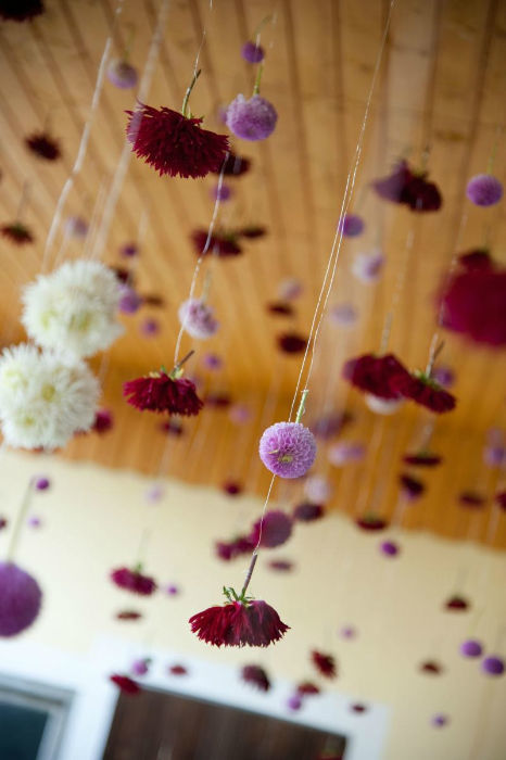 Beispiel: Saaldekoration, Foto: Floraswelten.
