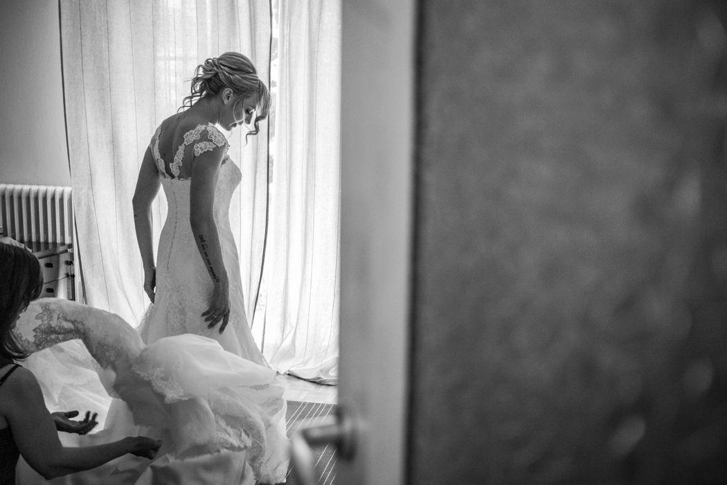 Moreno Belloni l'abito della sposa