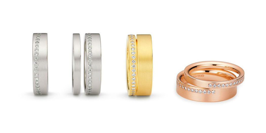 Beispiel: Verschiedene Größen, Foto: Juwelier Schlund.