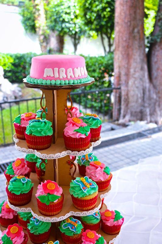 Pasteles de cupcakes.