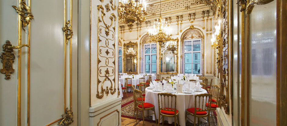 Beispiel: Traumlocation für Ihre Hochzeit, Foto: Palais Pallavicini.