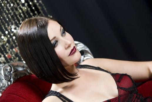 Beispiel: Schminken von Profis, Foto: Make-Ups Basel.