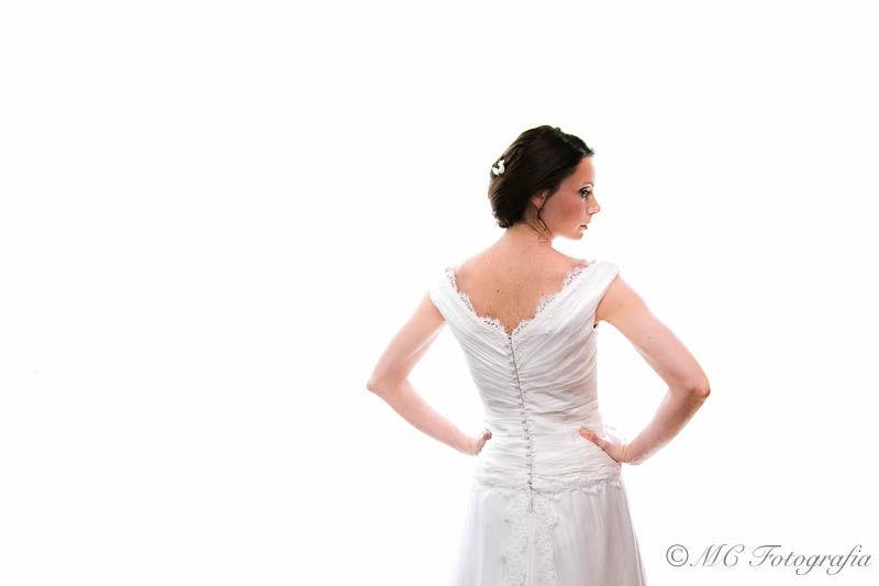 Vestizione sposa