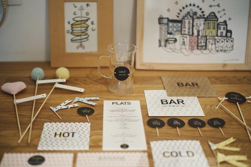 Sur mesure/Faire-part / Papeterie de table @hé!capture