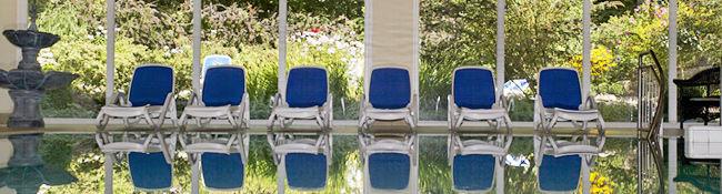 Beispiel: Wellnessbereich, Foto: Schlosshotel Ralswiek.