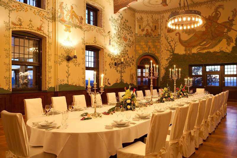 Hochzeitsdekoration, Foto: Hotel auf der Wartburg