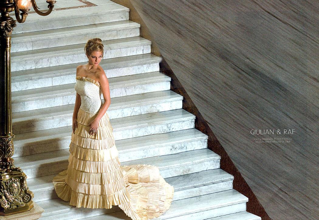 Vestido de novia modelo Sevilla
