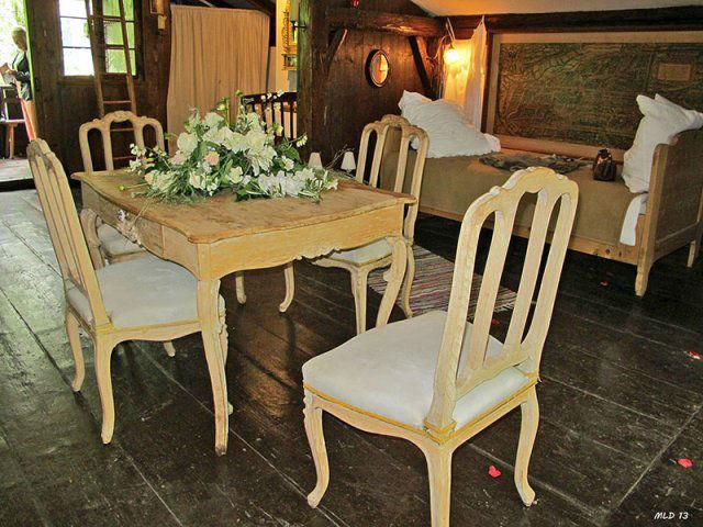 Beispiel: Innenraum - Einrichtung im bayrischen Stil, Foto: Lola Montez Haus.