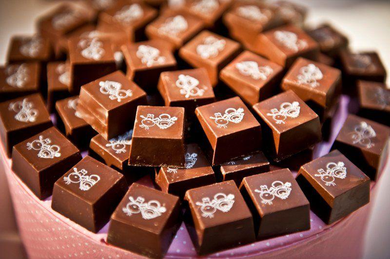 Noivinhos trufados - Chez Bonbon Chocolate Gourmet