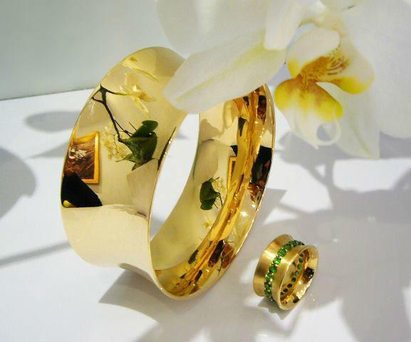 Beispiel: Schmuck für Ihre Hochzeit, Foto: Schmuck Julia Koenig.