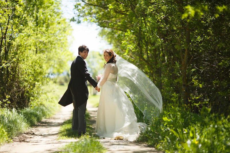 Una boda romántica en el campo