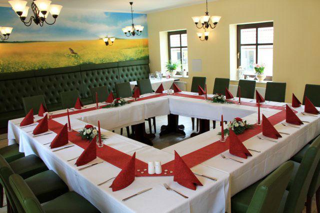 Beispiel: Bankett, Foto: Land-gut-Hotel Hermann.