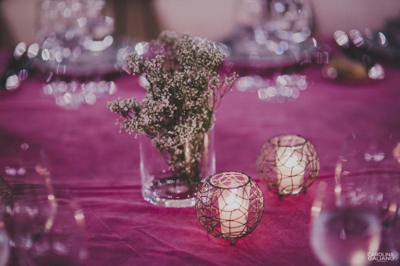 Una boda en entorno rural con todos los detalles