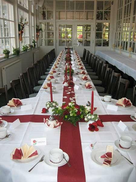 Beispiel: Hochzeitsbankett, Foto: Neu Helgoland.
