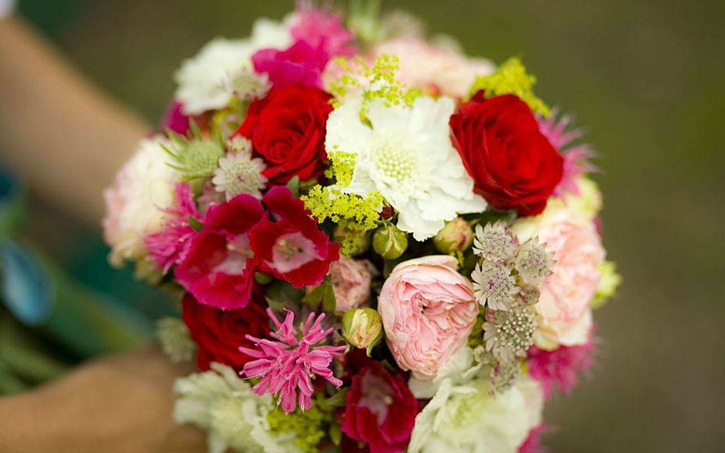 Beispiel: Brautsträuße, Foto: Florales und Gestaltung.