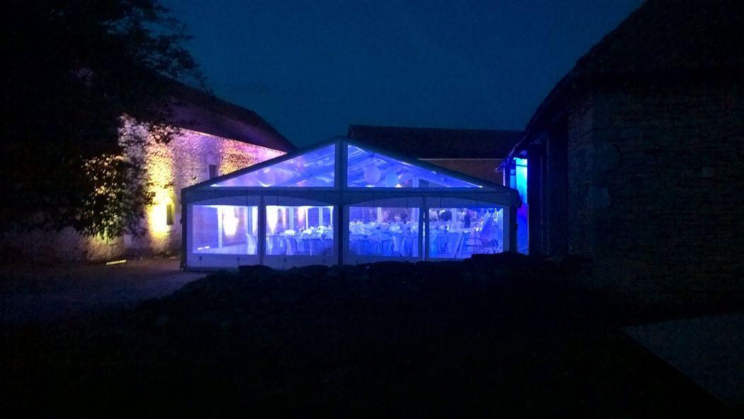 chapiteau crystal qub event