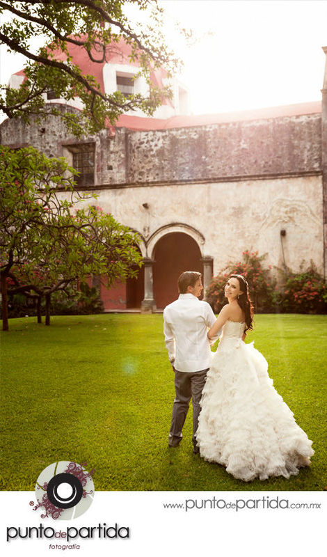 Cuernavaca - Hacienda Chiconcuac - Fotografia de boda - Mafer + Alex
