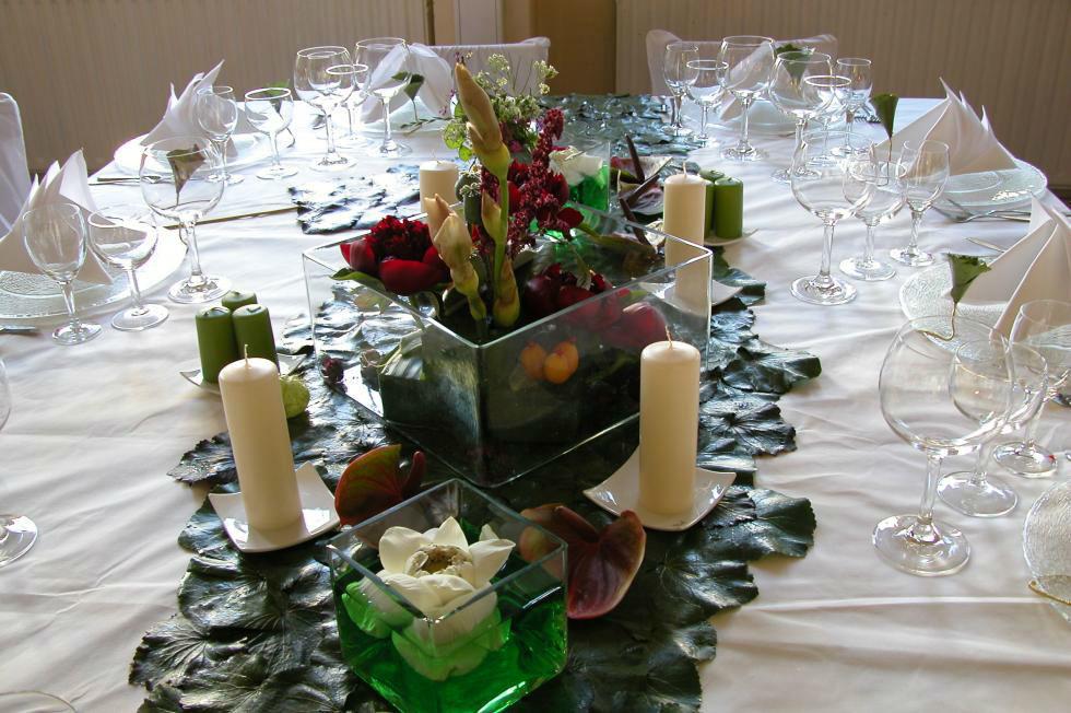 Beispiel: Tischdekoration, Foto: Das Bauernhaus.