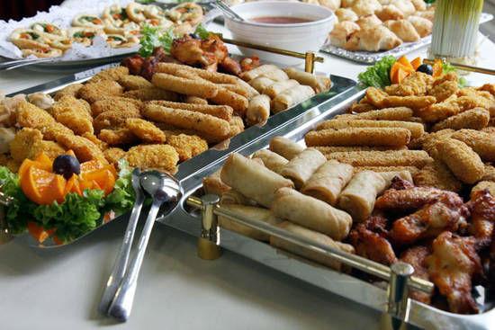 Beispiel: Warme und kalte Buffets, Foto: Dwenger Catering & Events.