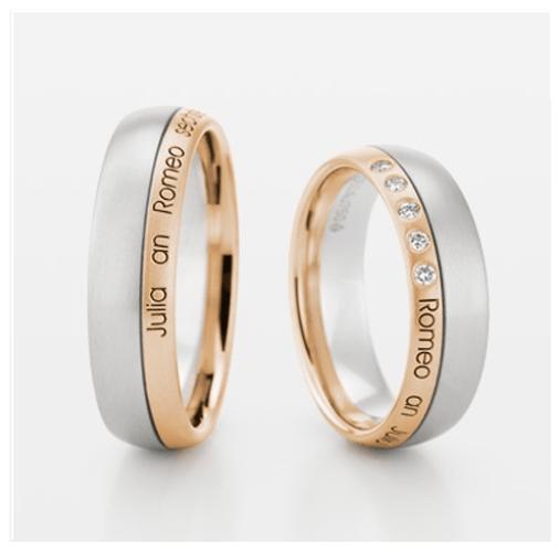 Beispiel: Ringe mit Inschrift, Foto: Ellen Zoller.