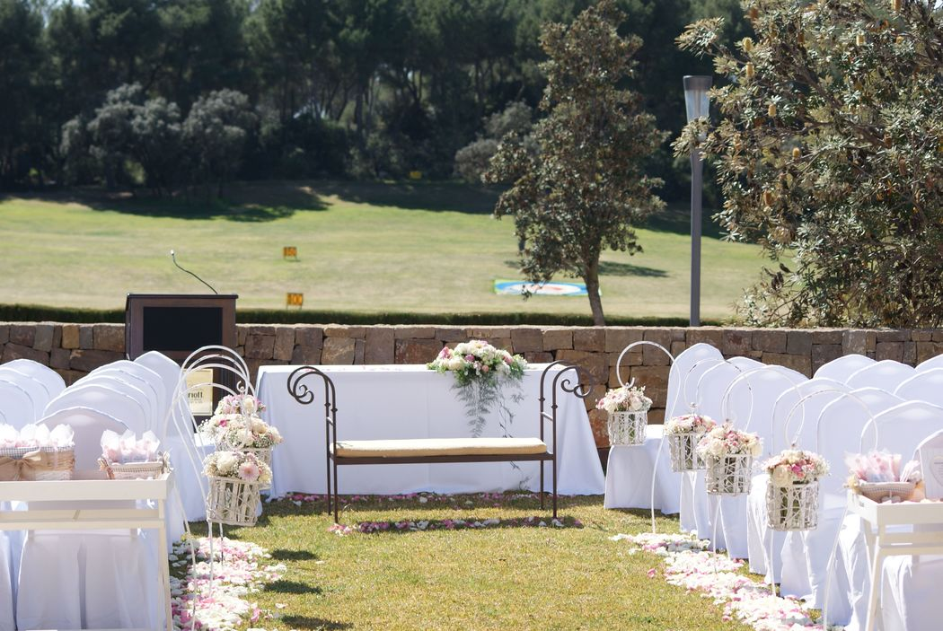 Ceremonias con vistas al campo de Golf La Sella