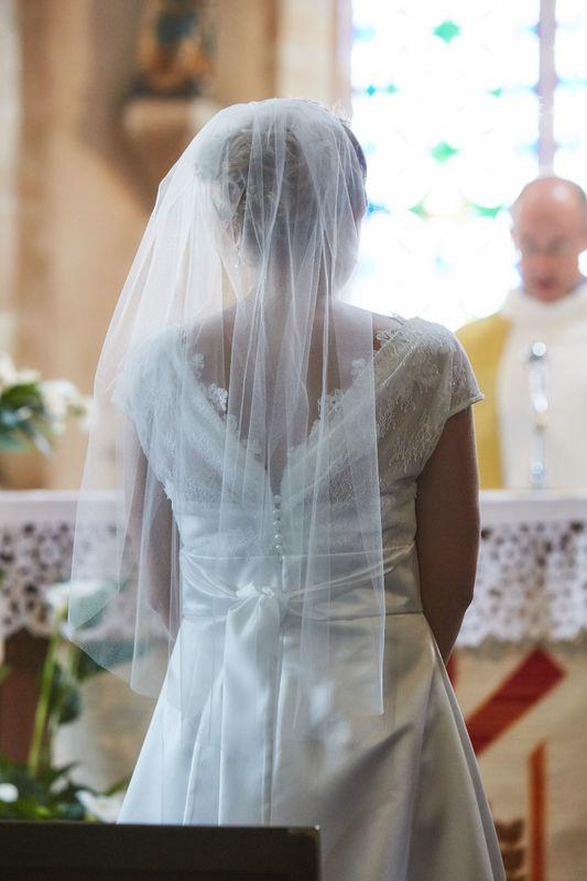 Une image pendant la cérémonie religieuse