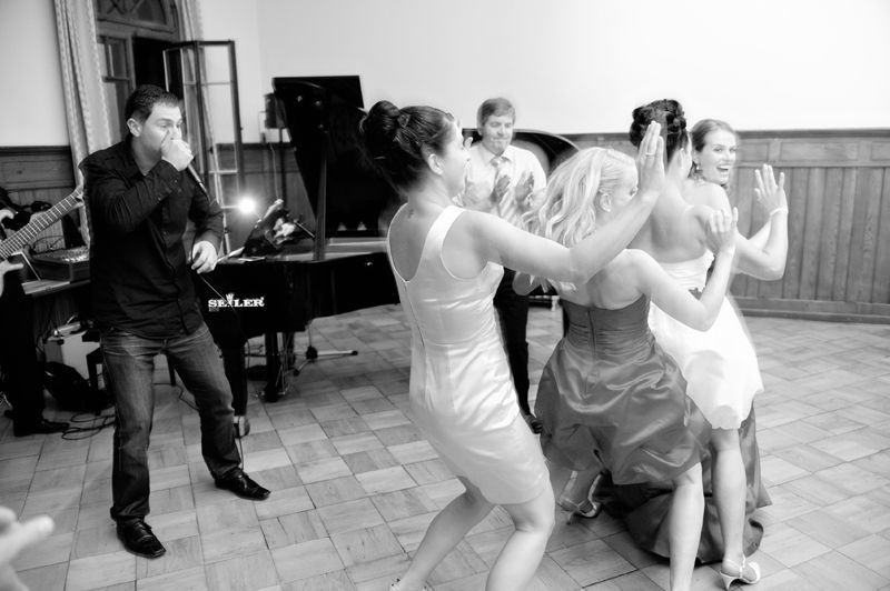 Beispiel: Stimmung für Ihre Hochzeitsfeier, Foto: Alessandro Sabato Trio.