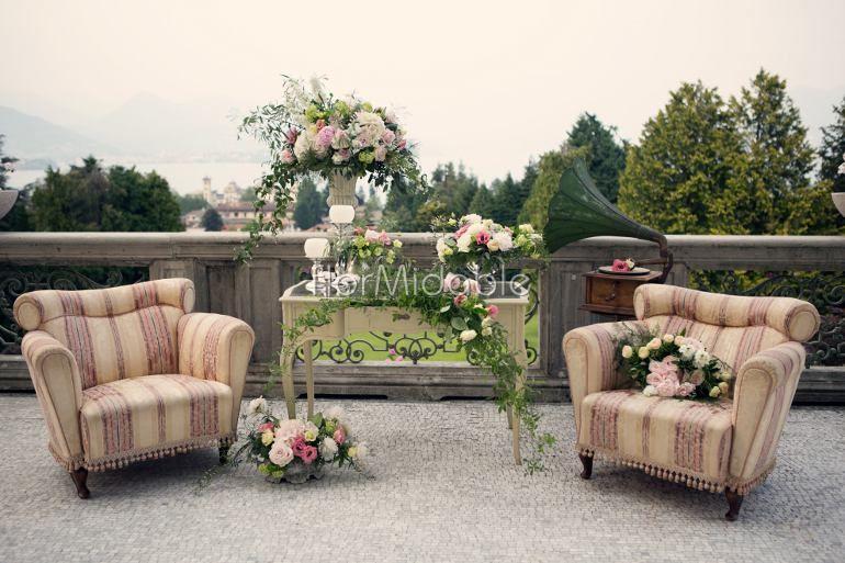 Scenografie e allestimenti per un matrimonio romantico - Ph. Erika Di Vito