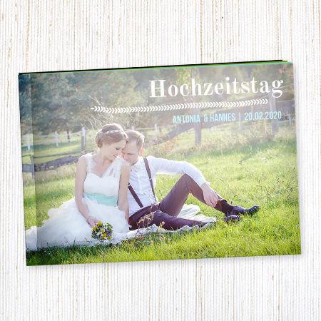 Fotobücher als Hochzeitserinnerung Foto: wunderkarten.de