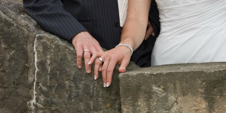 Beispiel: Brautpaar, Foto: Burg Kreuzen.
