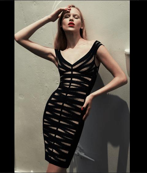 Vestidos para fiesta - Foto Hervé Léger