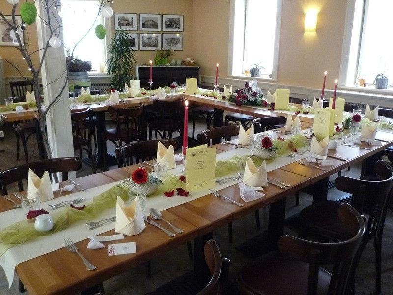 Beispiel: Bankett, Foto: Kromer´s Restaurant & Gewölbekeller.