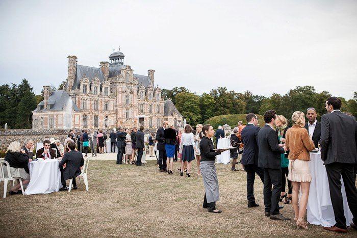 réception à l'Orangerie du Château de Beaumensil