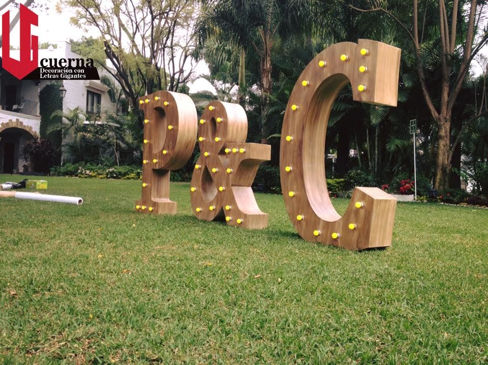 LG Cuerna    Letras GIGANTES Cuernavaca