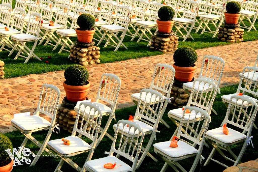 We Are. - Wedding planner. Montaje de ceremonia.