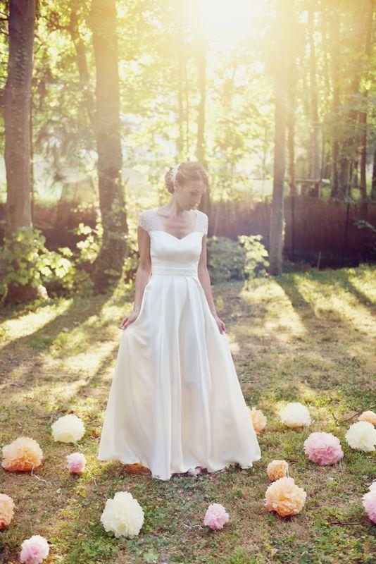 Kaa Couture modèle robe de mariée NOEMIE