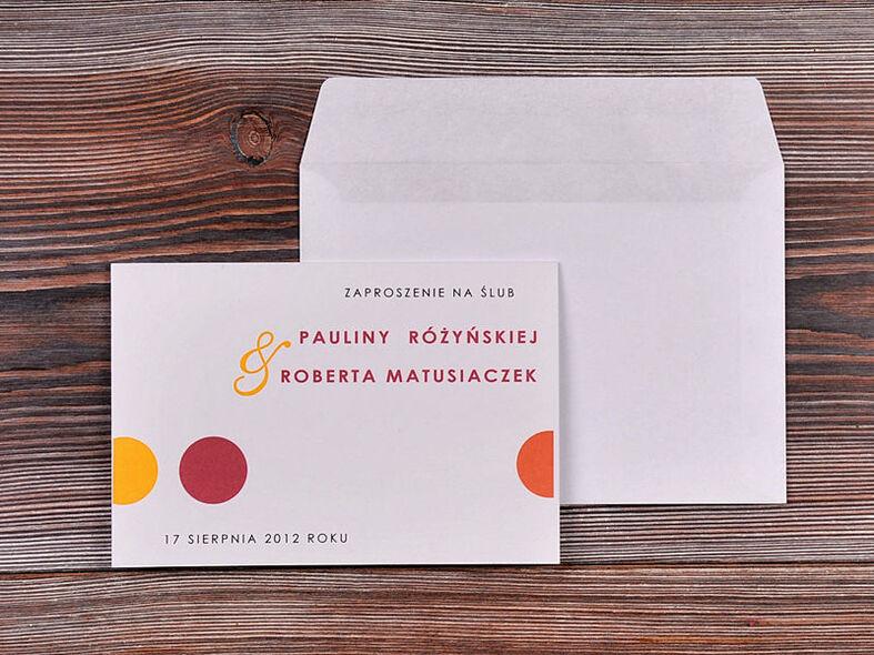 We Love Paper zaproszenia ślubne