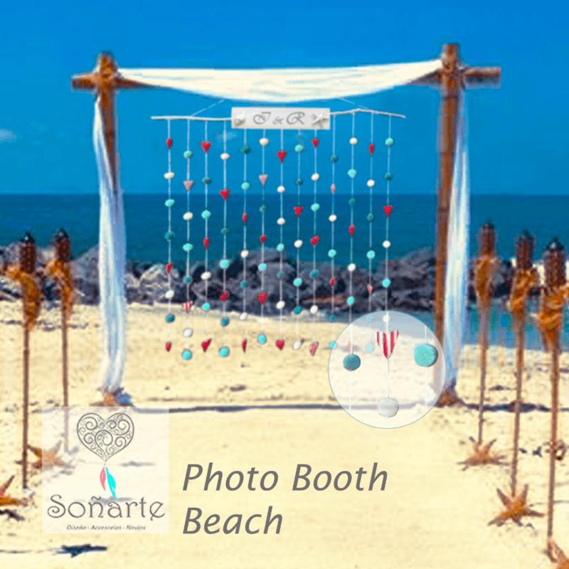 Photo Booth Beach · Arriendo de estación para fotos