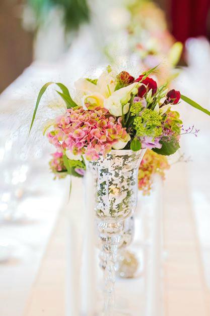 Beispiel: Blumendekoration, Foto: Weyprechthof.
