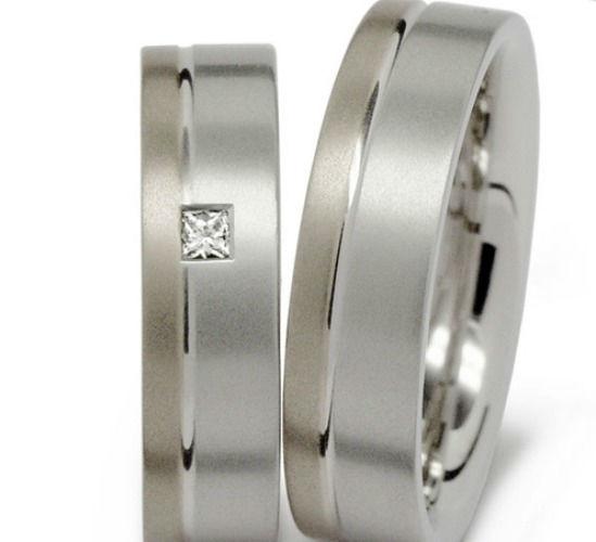 Beispiel: Silberring mit Diamantbesatz, Foto: Seilnacht.