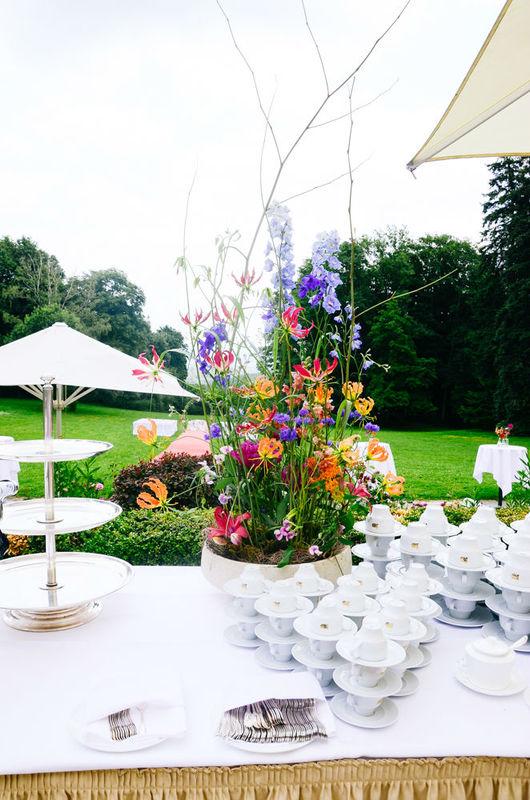 Beispiel: Florale Dekoration, Foto: Blumenbar.